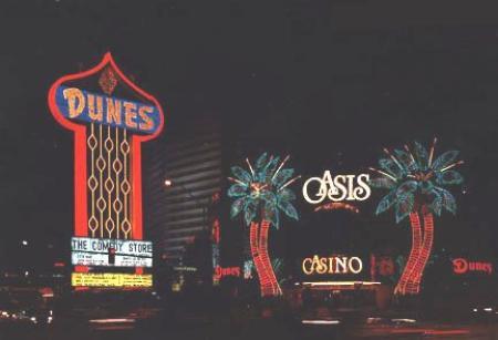 Las Vegas Dunes hotel sign