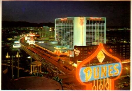 Las Vegas Dunes hotel, before its implosion