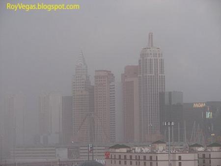 Las Vegas sand storm - New York New York, Las Vegas