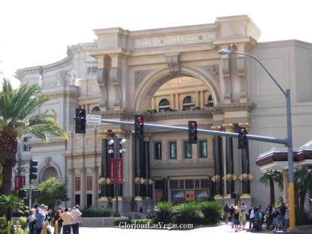 The Forum Shops review, Caesar's Palace hotel and casino, Las Vegas