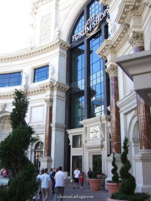 Caesar's  Palace Forum Shops review, Las Vegas