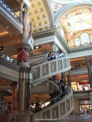 photos of Caesar's Palace Forum Shops, in Casear's Palace Hotel and Casino, Las Vegas