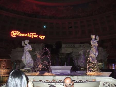 Caesar's Palace Hotel, Forum Shops, showing Talking Statues