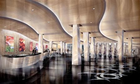 Planet Hollywood casino Las Vegas, interior