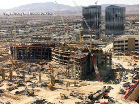 Project CityCenter, Las Vegas, under construction