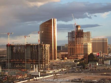 Las Vegas Wynn Encore, Pelazzo and Echelon place photos, under construction
