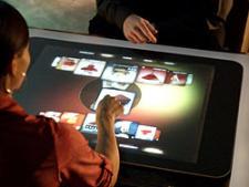 Harrah's casinos in Las Vegas Virtual Concierge using Microsoft Surface