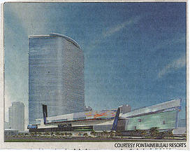 Fontainebleau hotel and casino in Las Vegas