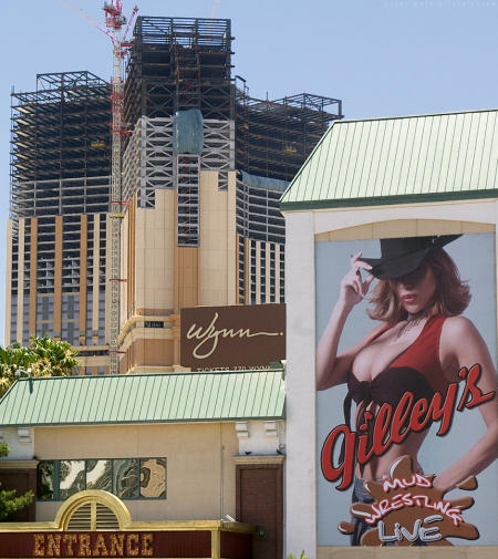 Frontier and Palazzo hotels in Las Vegas