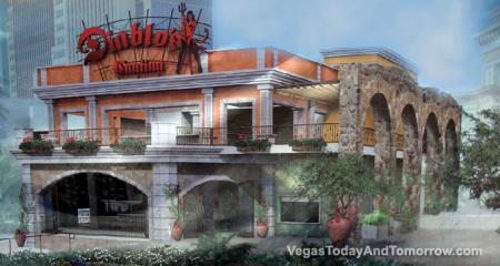 Diablo's Cantina at Monte Carlo hotel in Las Vegas
