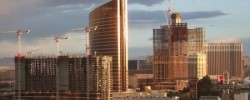 In Vegas, even a construction site looks glorious