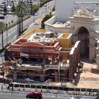 Diablo's Cantina at Monte Carlo – construction on a tiny scale