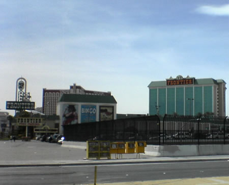 The New Frontier Hotel in Las Vegas, complete with Gilleys