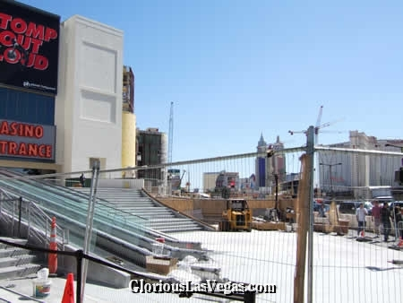 Planet Hollywood Vegas being rebuilt from the old Vegas Aladdin
