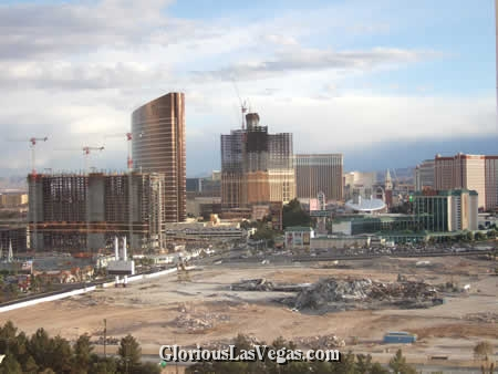 new casino building in vegas